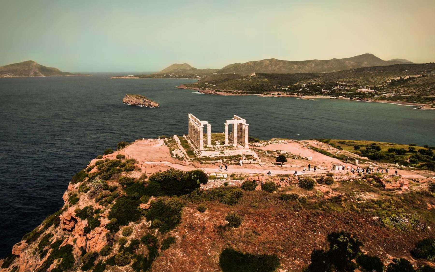 Cape Sounion Sounio Greece