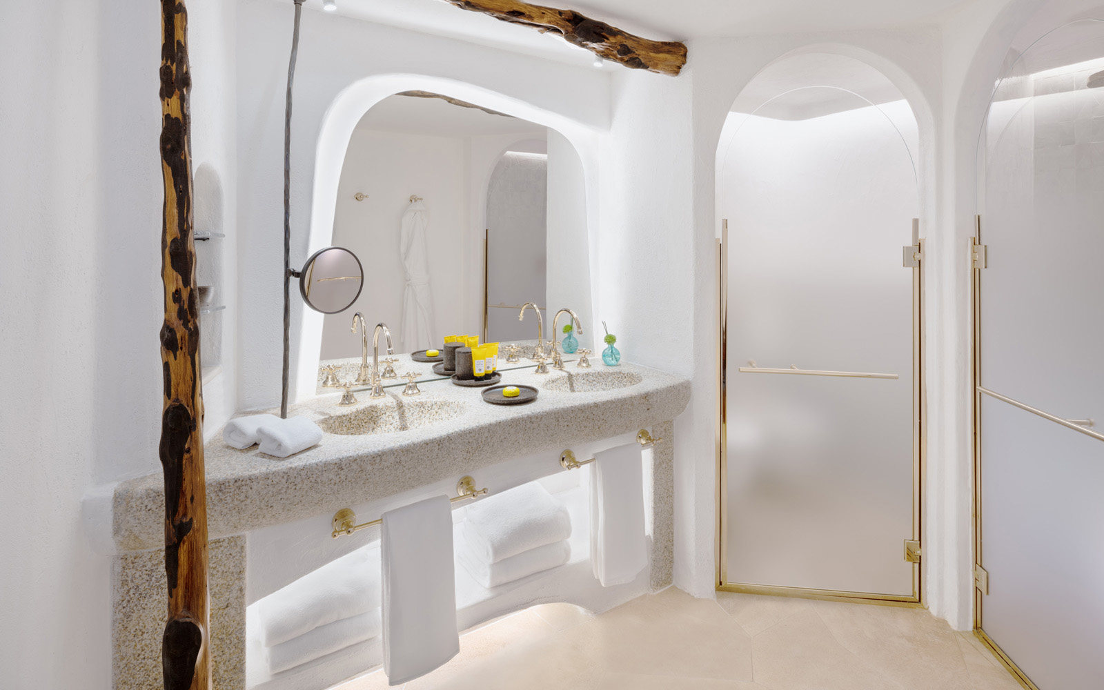 Hotel Cala Di Volpe  Luxury Suite Bathroom