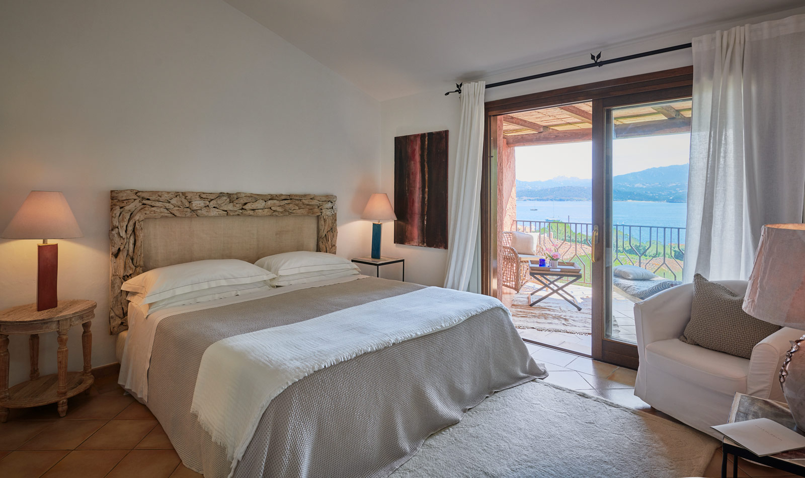 Charming Sea View Room at Villa Del Golfo Lifestyle