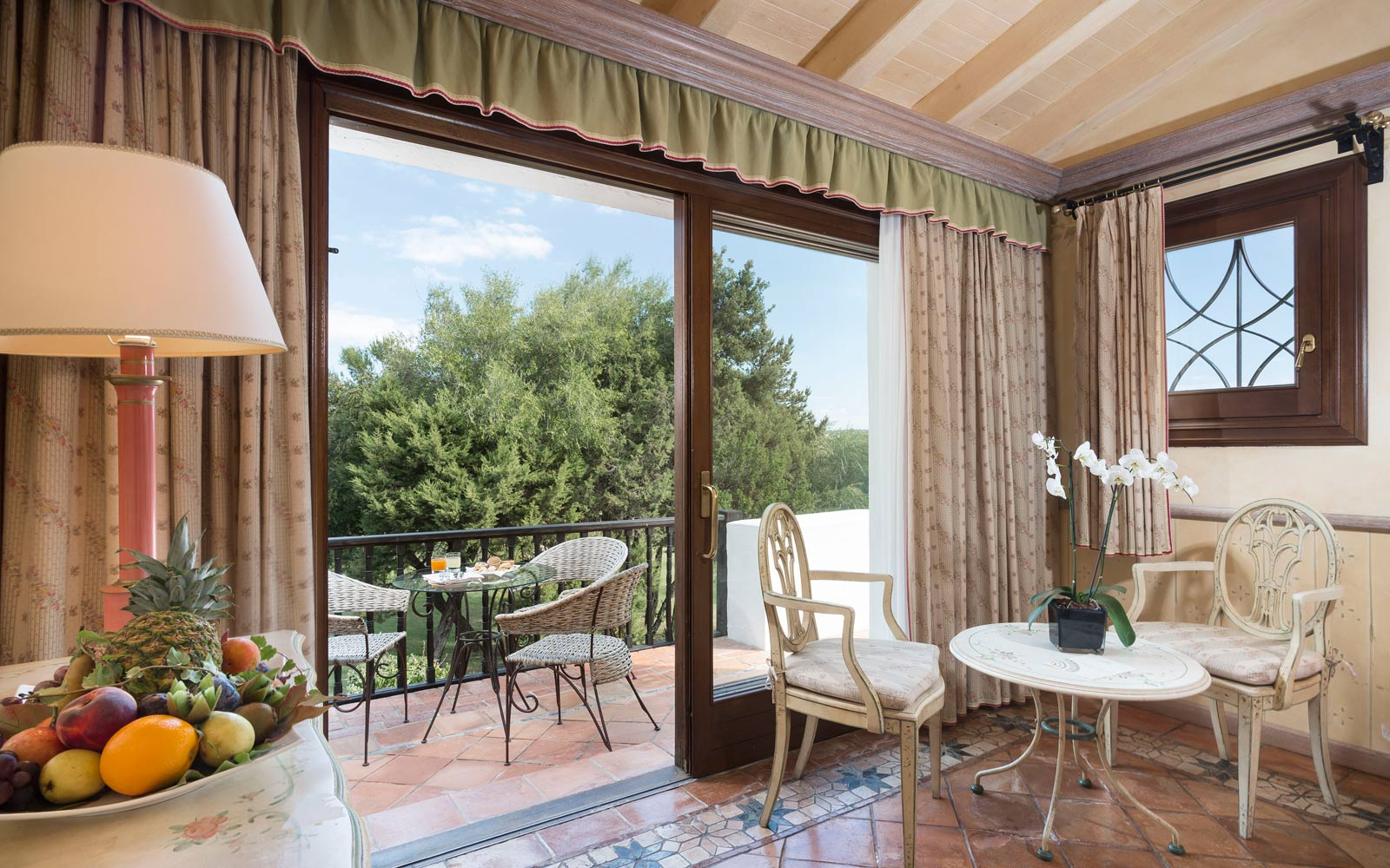 Classic Room Balcony at Le Palme