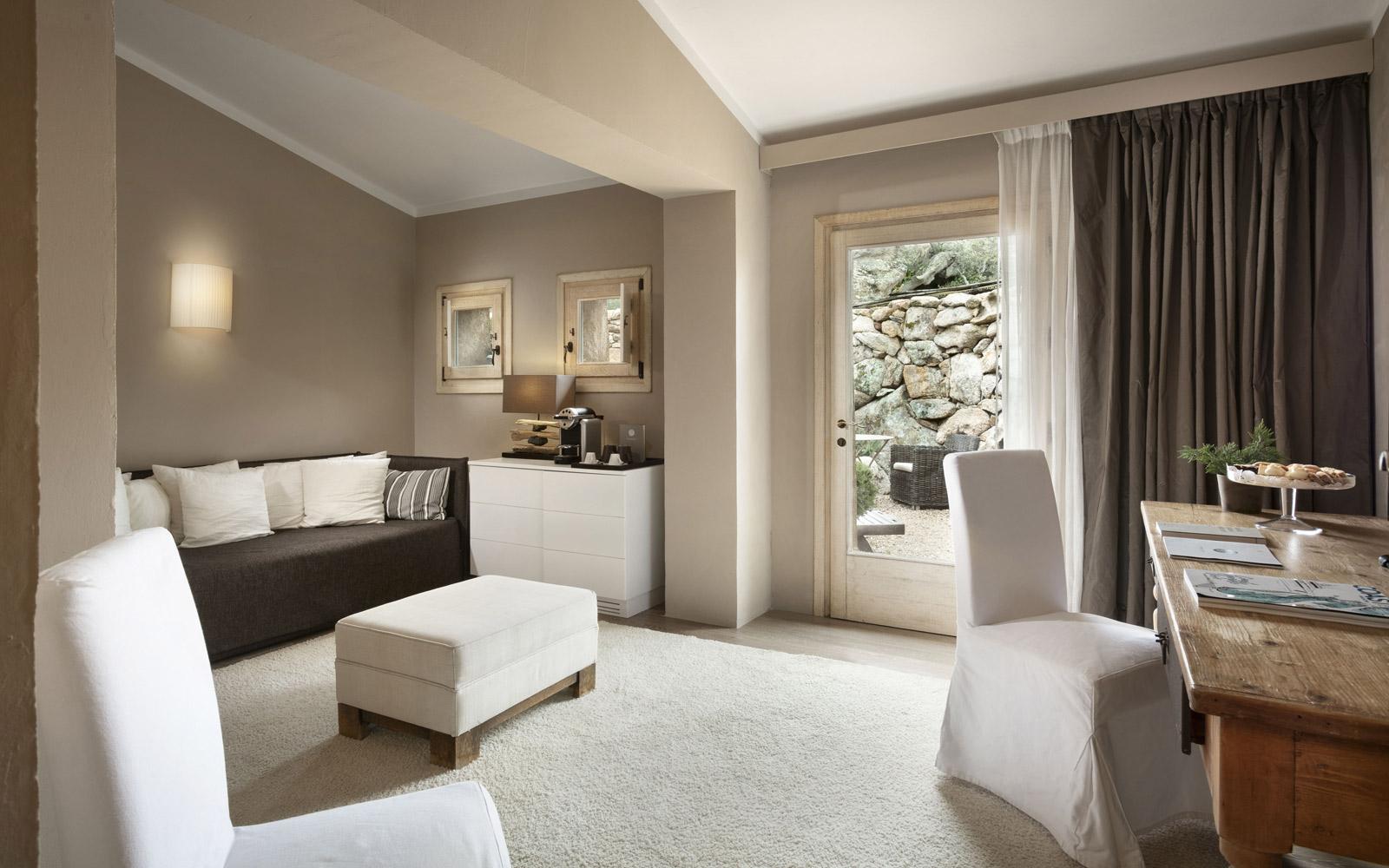 Petra Segreta Resort & Spa Classic Suite Living Room