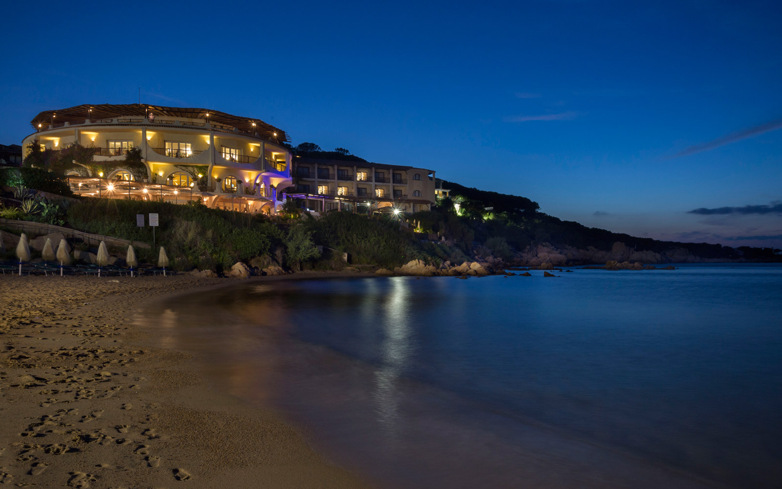 Beach at Night - Club Hotel