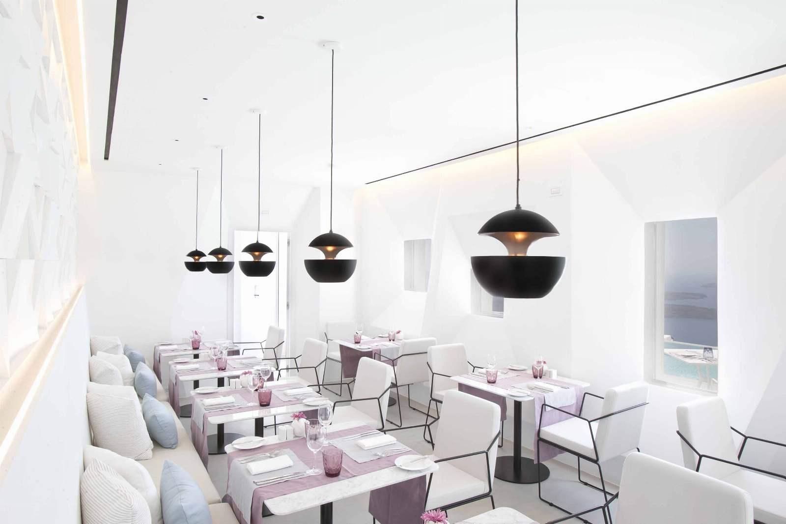 Santoro Restaurant, Grace Hotel