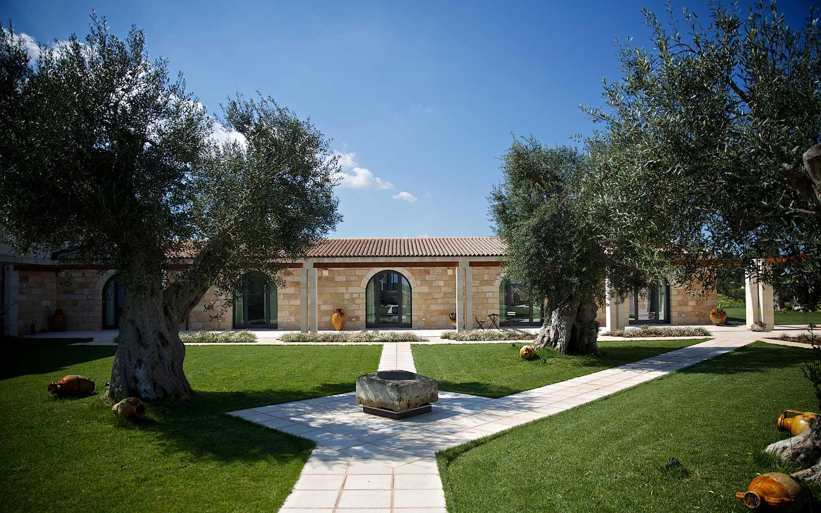 Exterior of Masseria Stali