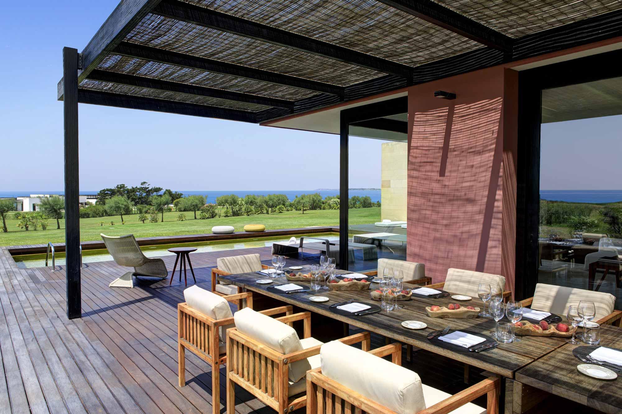 Dining Area at Villa Acacia