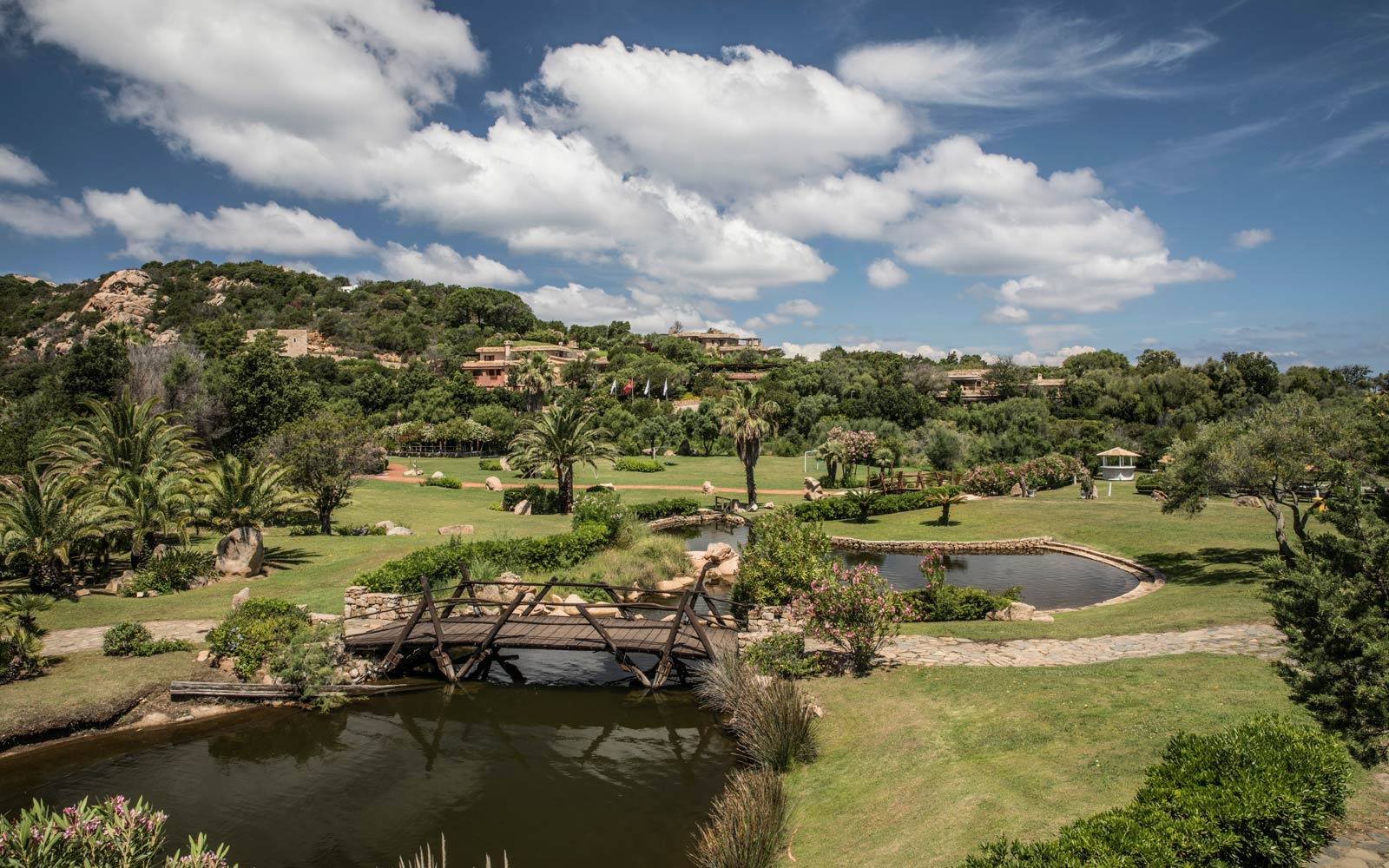 Gardens and Lake at Le Palme