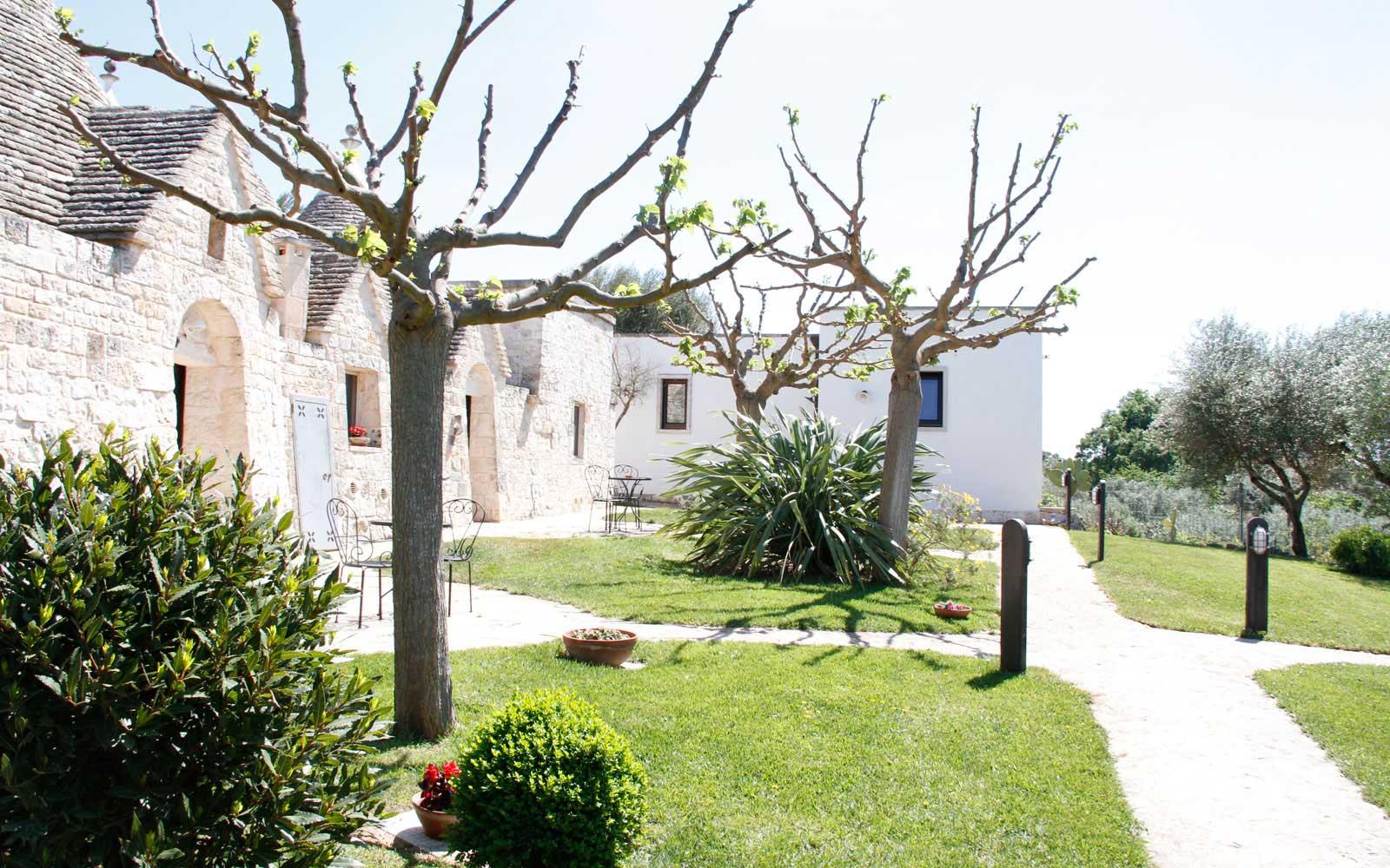 Garden Area at Il Palmento