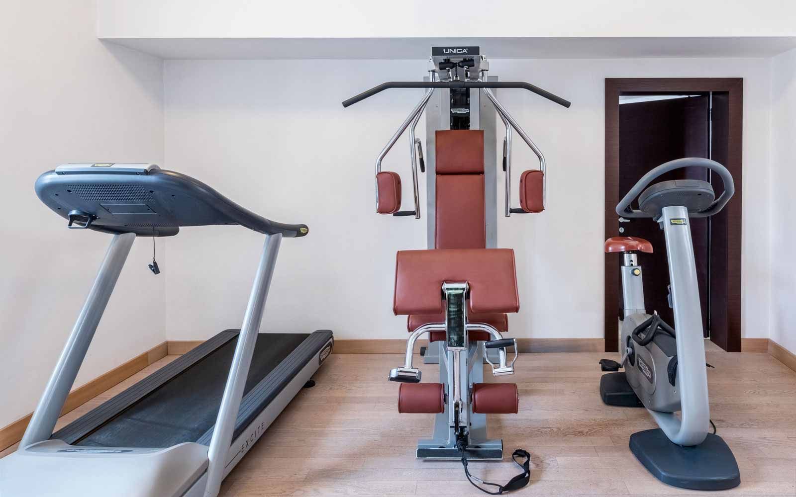 Gym Facilities at Risorgimento Resort