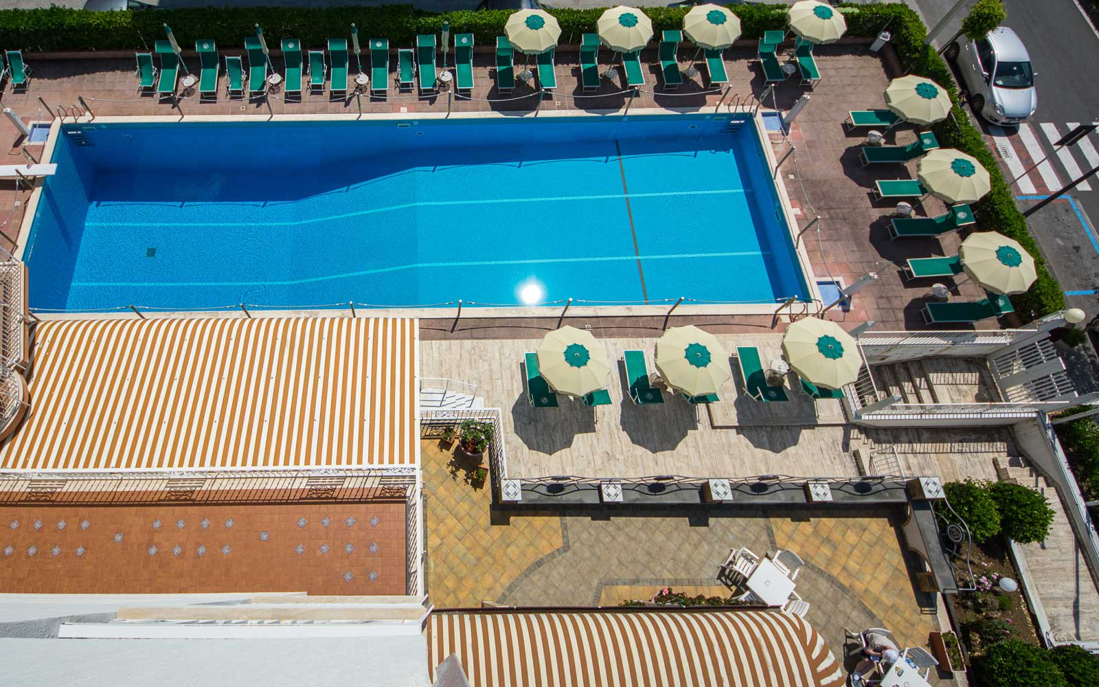 Pool at Hotel Pietra Di Luna