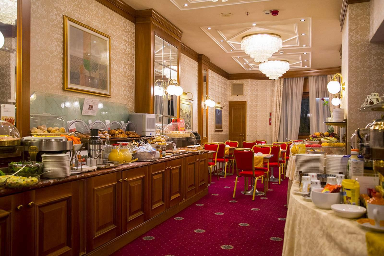 Breakfast Room at Hotel Berna
