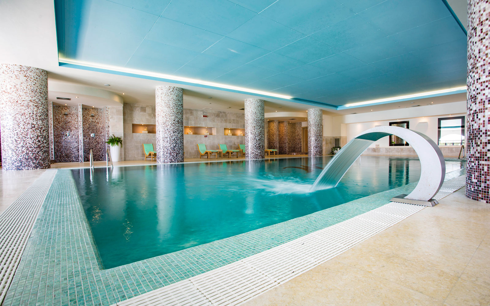 Hotel Marinagri Indoor Swimming Pool
