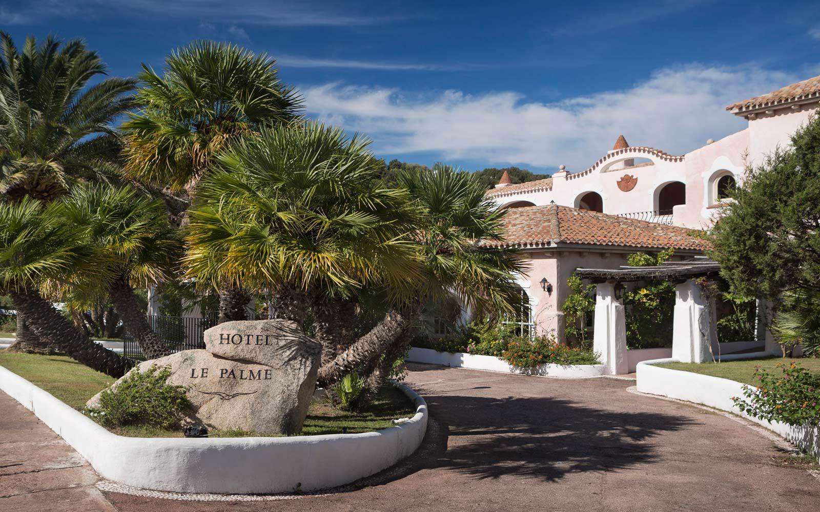 Entrance at Le Palme