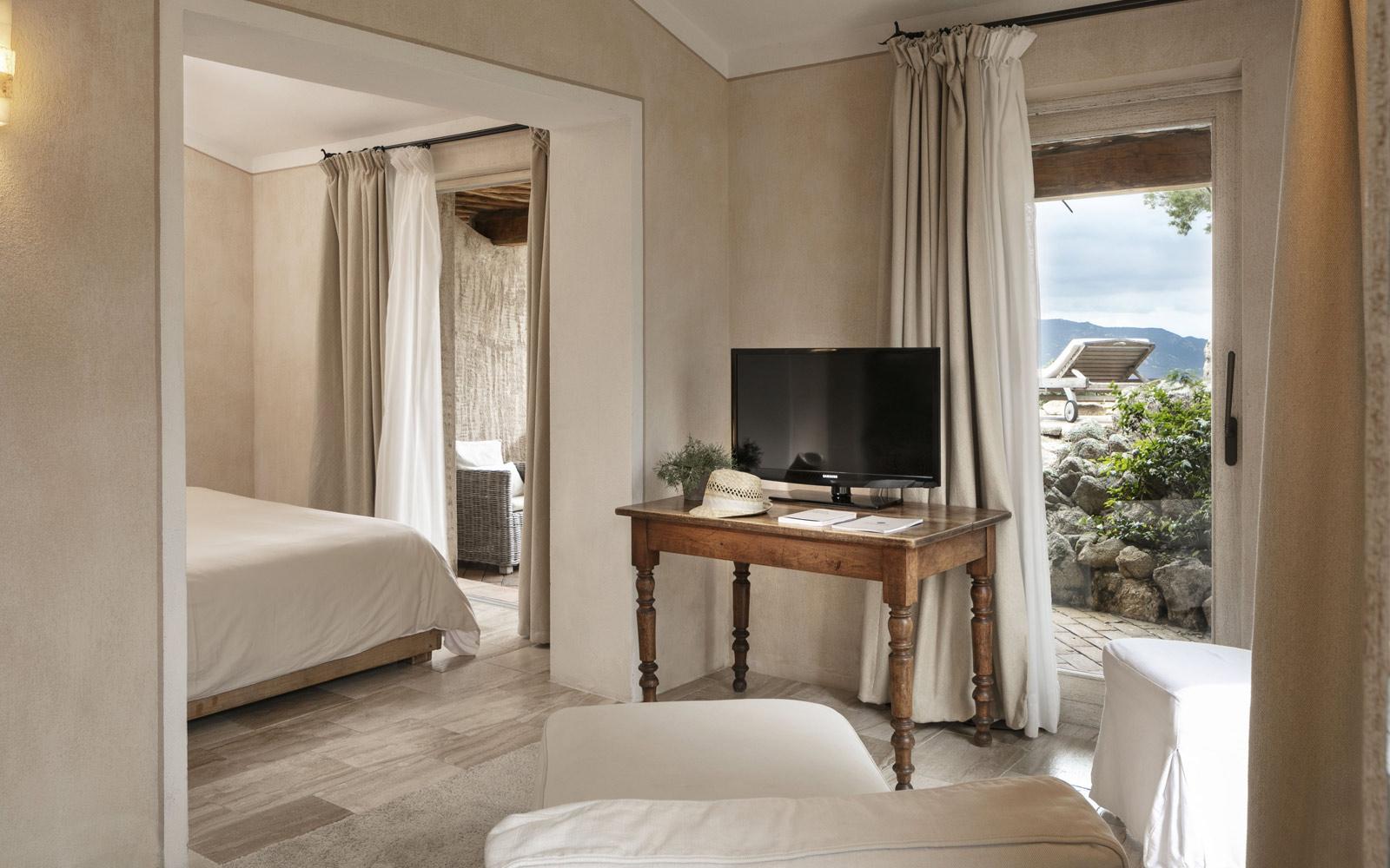 Petra Segreta Resort & Spa Junior Suite Living Room