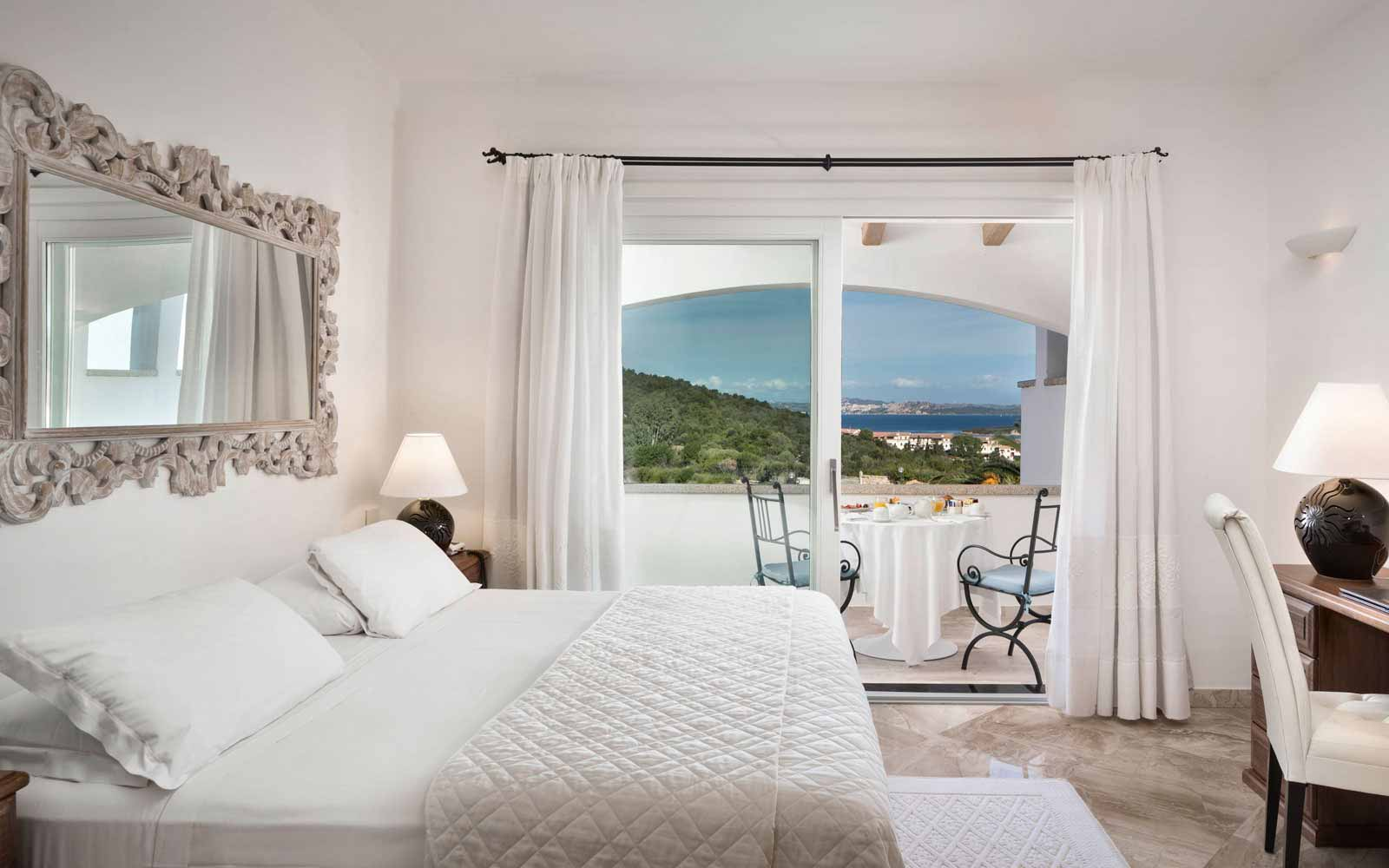 Premium Room with Sea View at Hotel La Rocca Resort & Spa