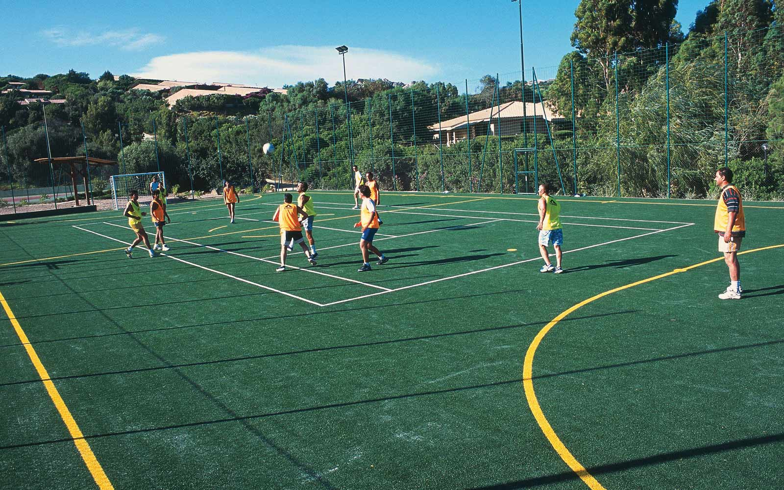 Football at Park Hotel & Spa Cala Di Lepre