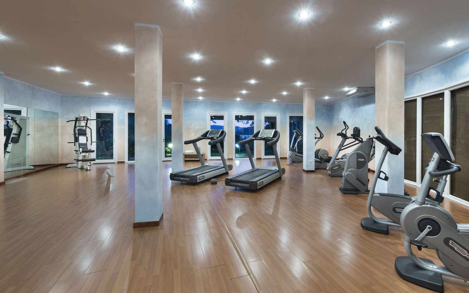 Gym at Park Hotel & Spa Cala Di Lepre