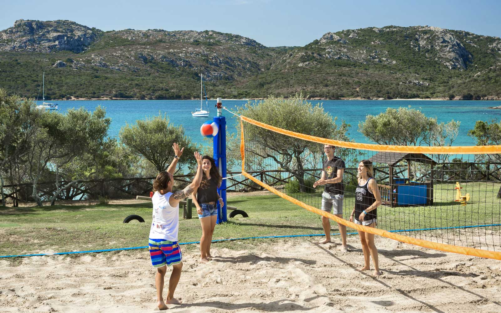 Volleyball at Park Hotel & Spa Cala Di Lepre