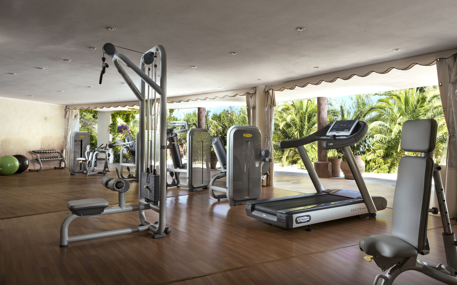 Gym at Marinedda Thalasso & Spa