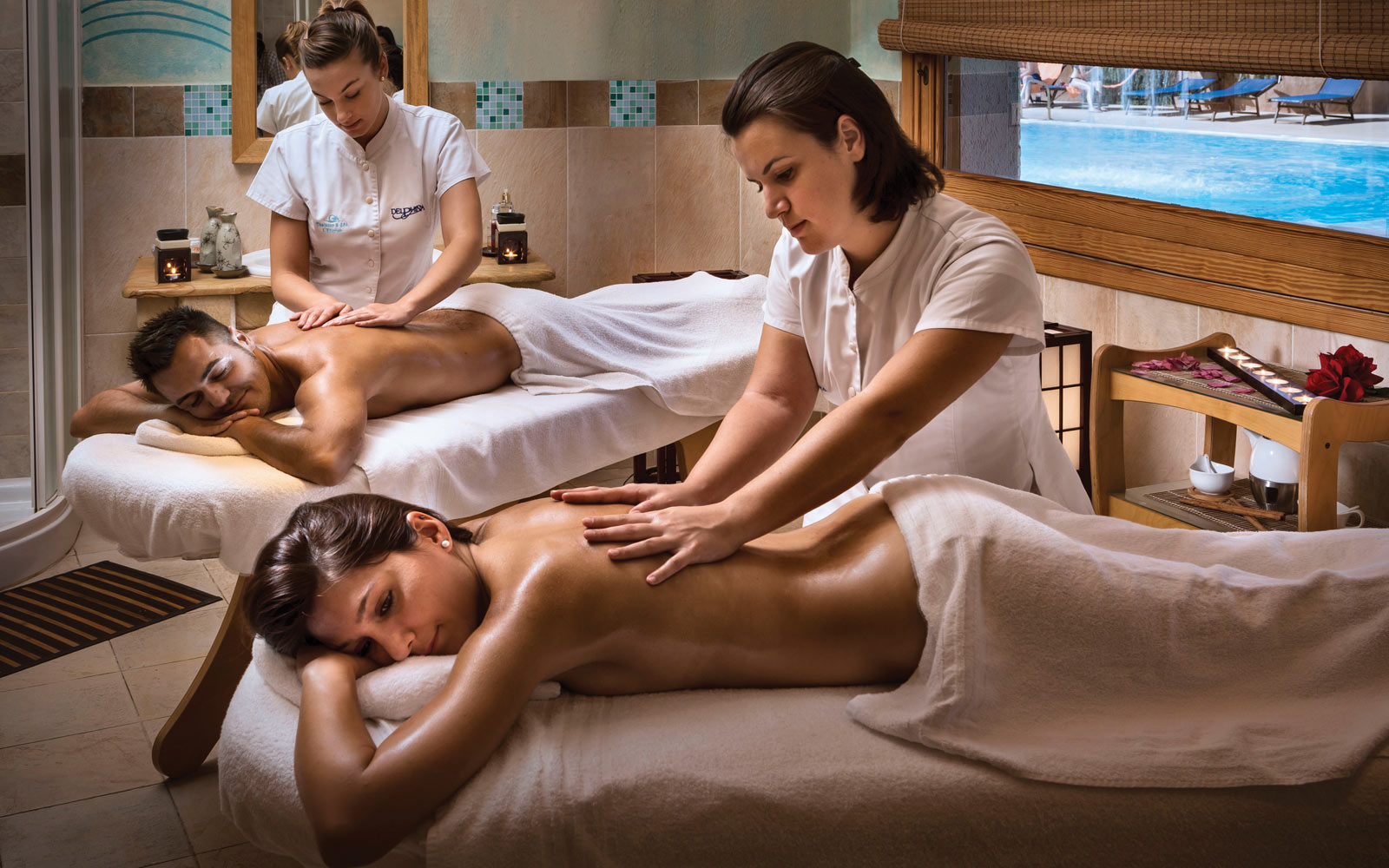 Massage at Marinedda Thalasso & Spa