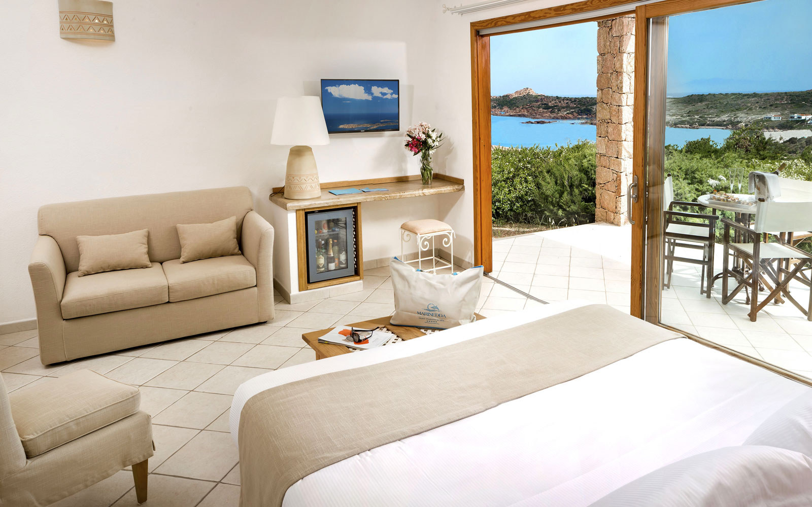 Relax Room at Marinedda Thalasso & Spa