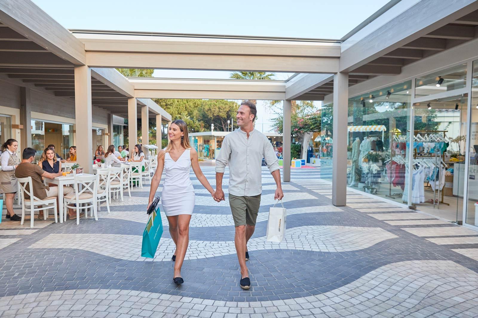 New Piazzetta Area - Forte Village Resort