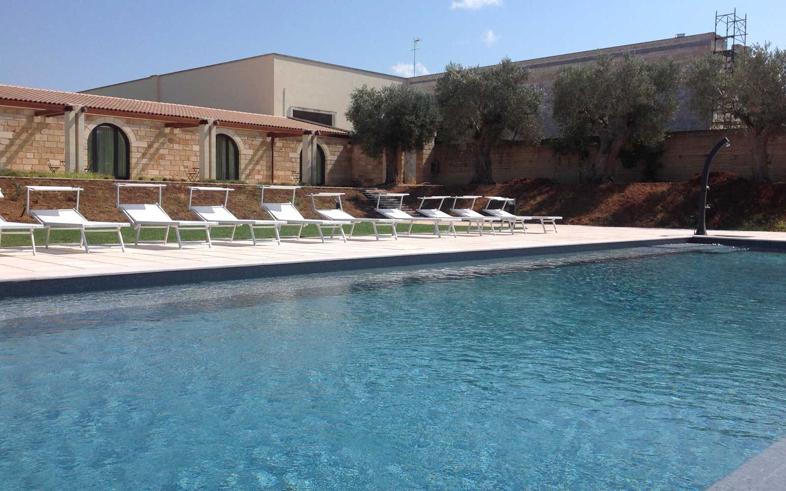 Pool at Masseria Stali
