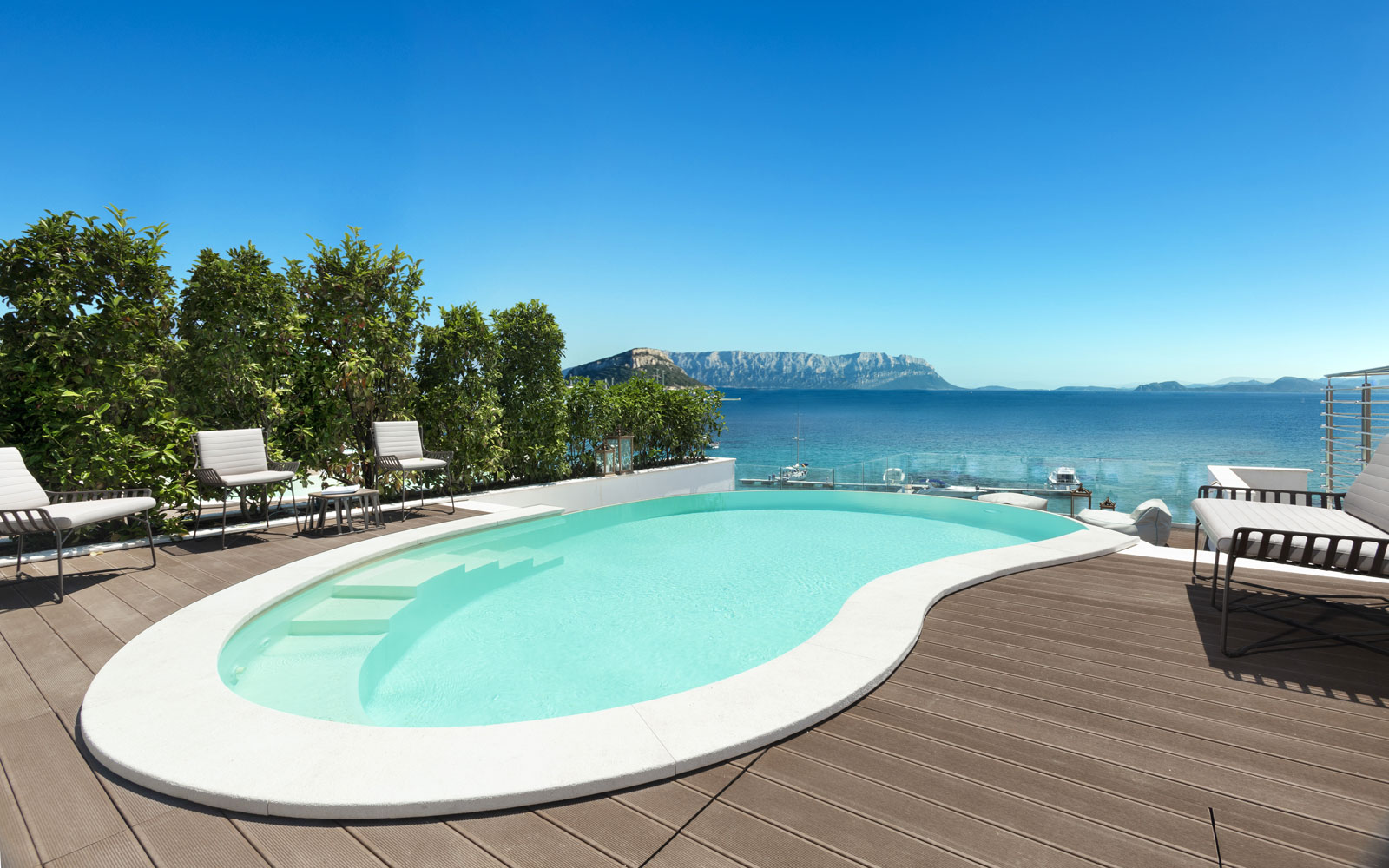Pool Suite Terrace Gabbiano Azzurro