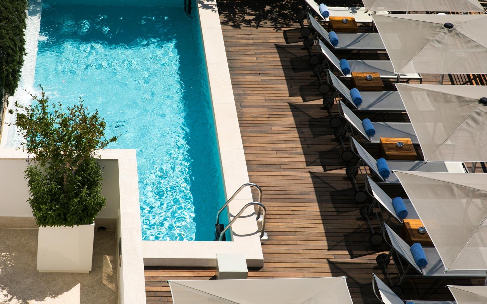 Swimming  Pool at Casa Angelina