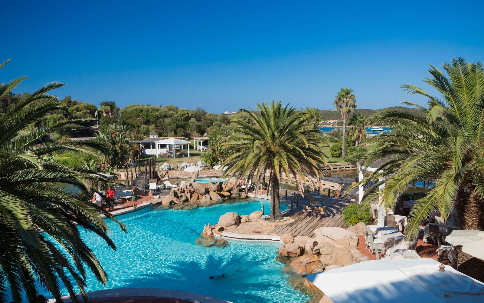 Pool at Le Palme
