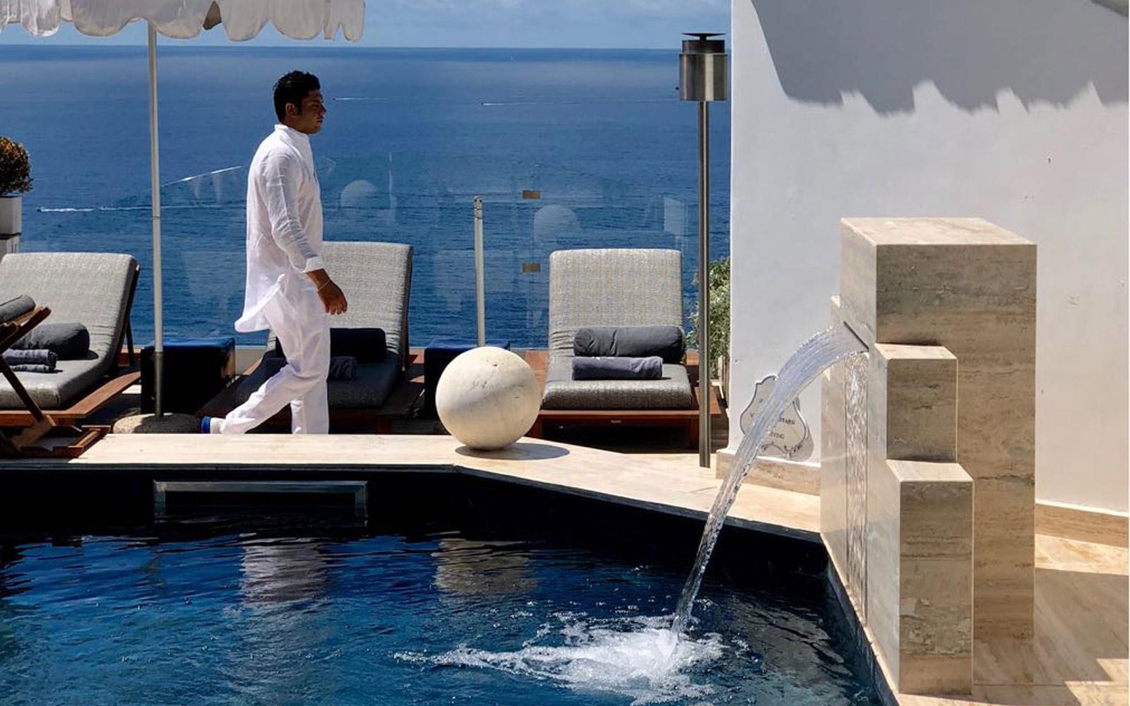 Detail Pool - Hotel Villa Franca
