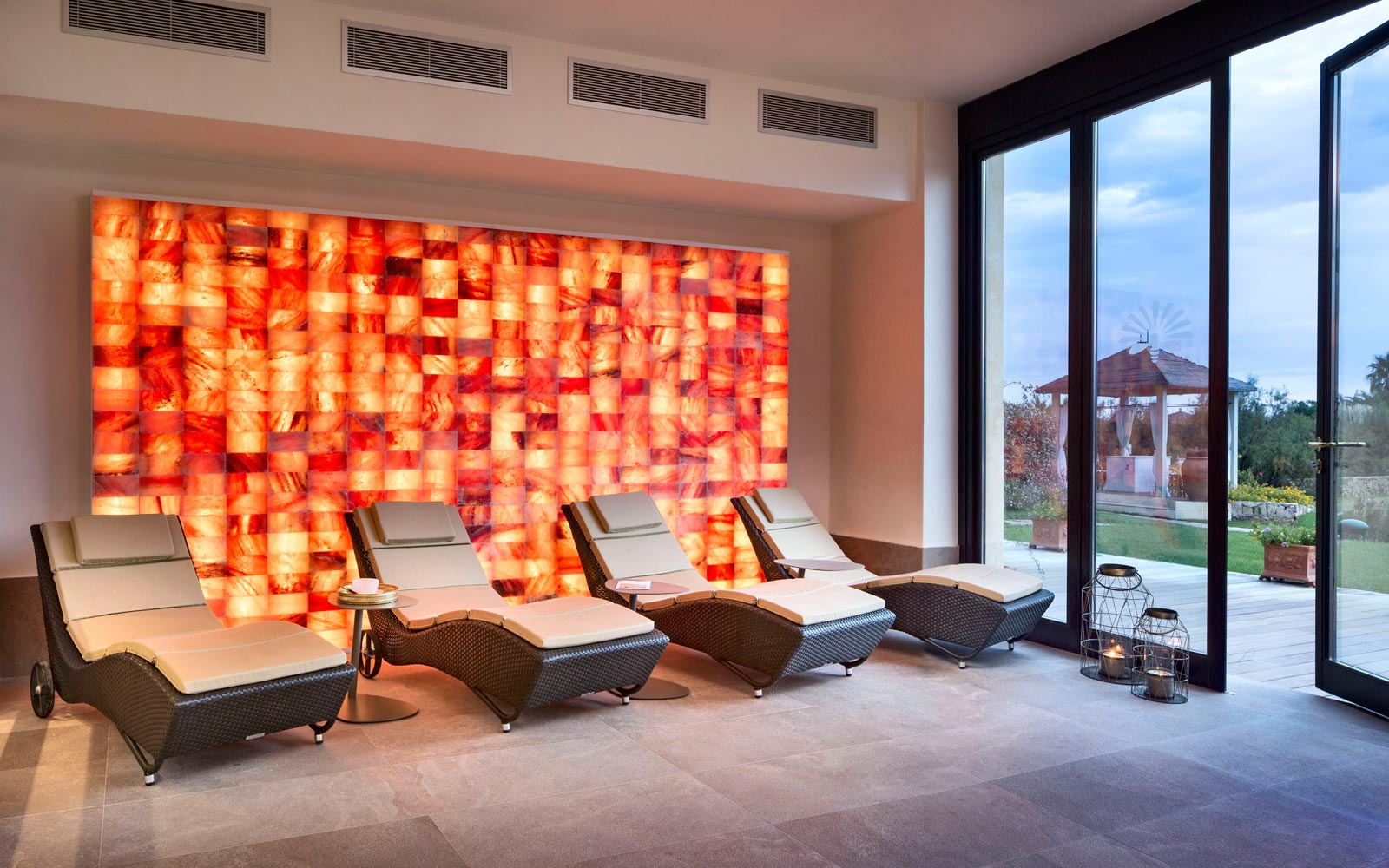 Relax Area at Hotel Abi D'Oru