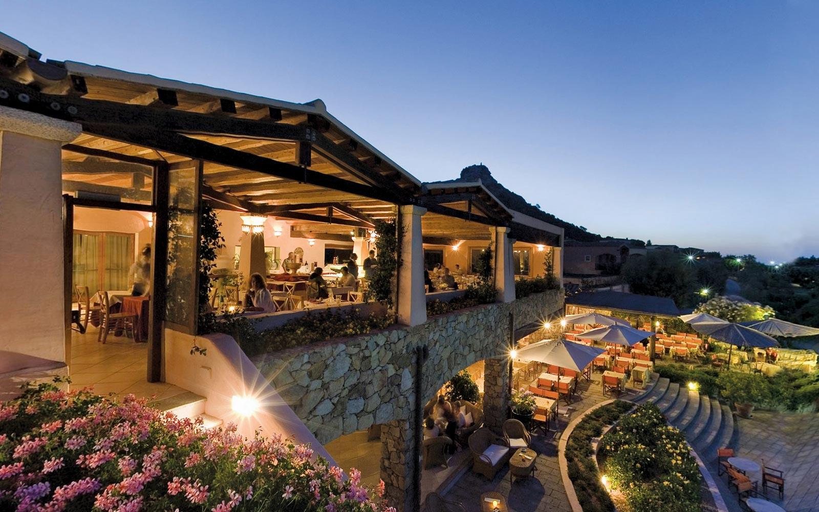 Restaurant at Resort Cala Di Falco