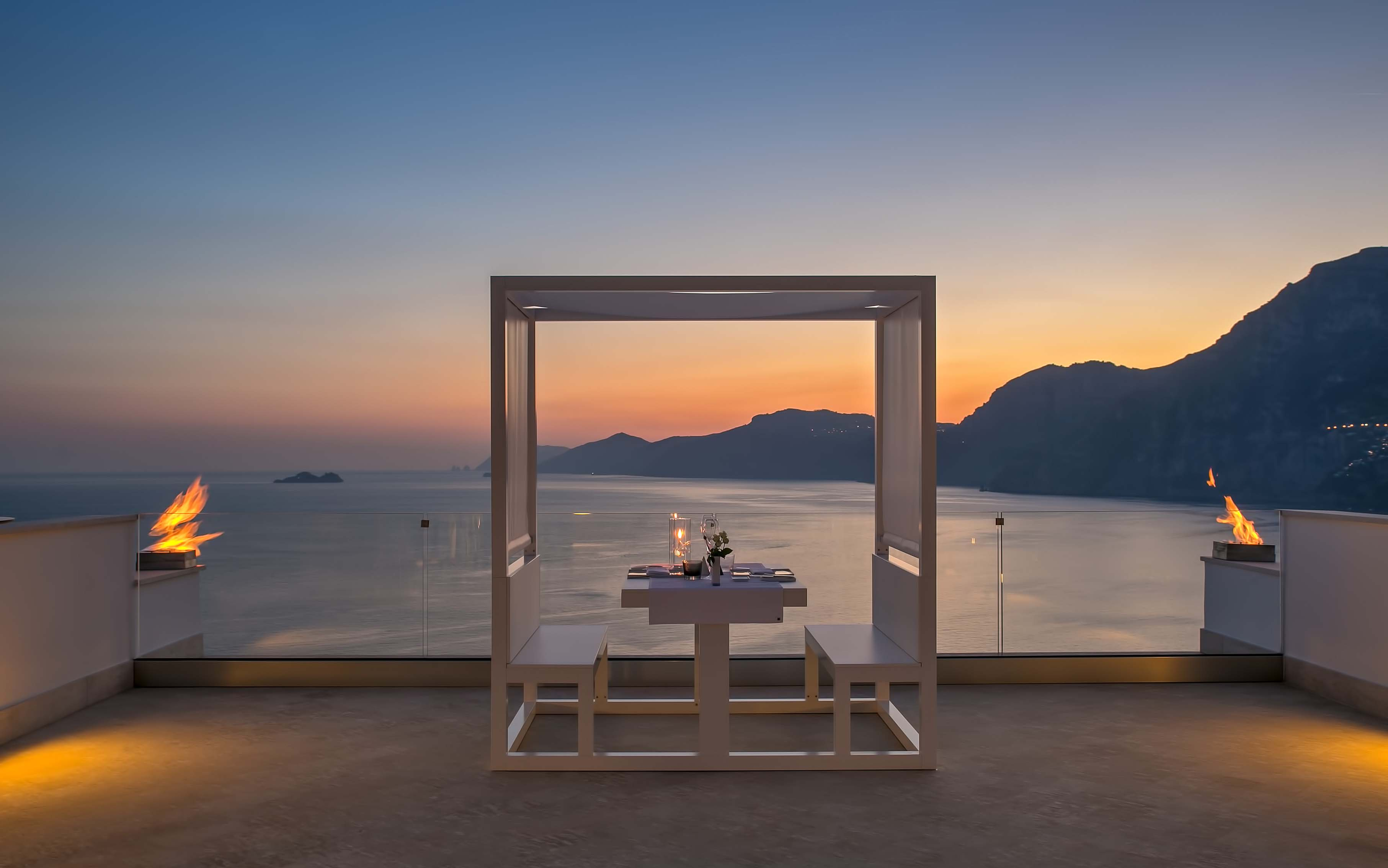 Romantic Dinner at Casa Angelina