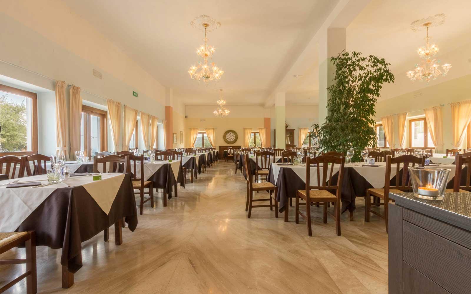 Sala Restaurant at Hotel Brancamaria