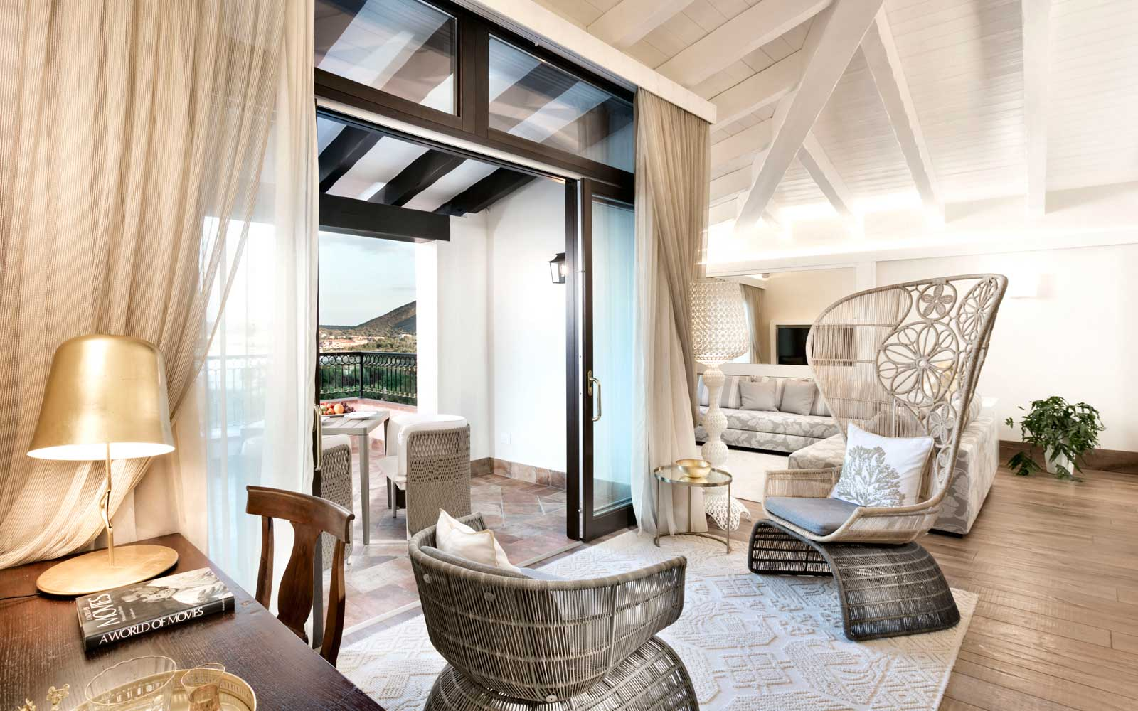 Suite Terrace & Living Room at Hotel Abi D'oru