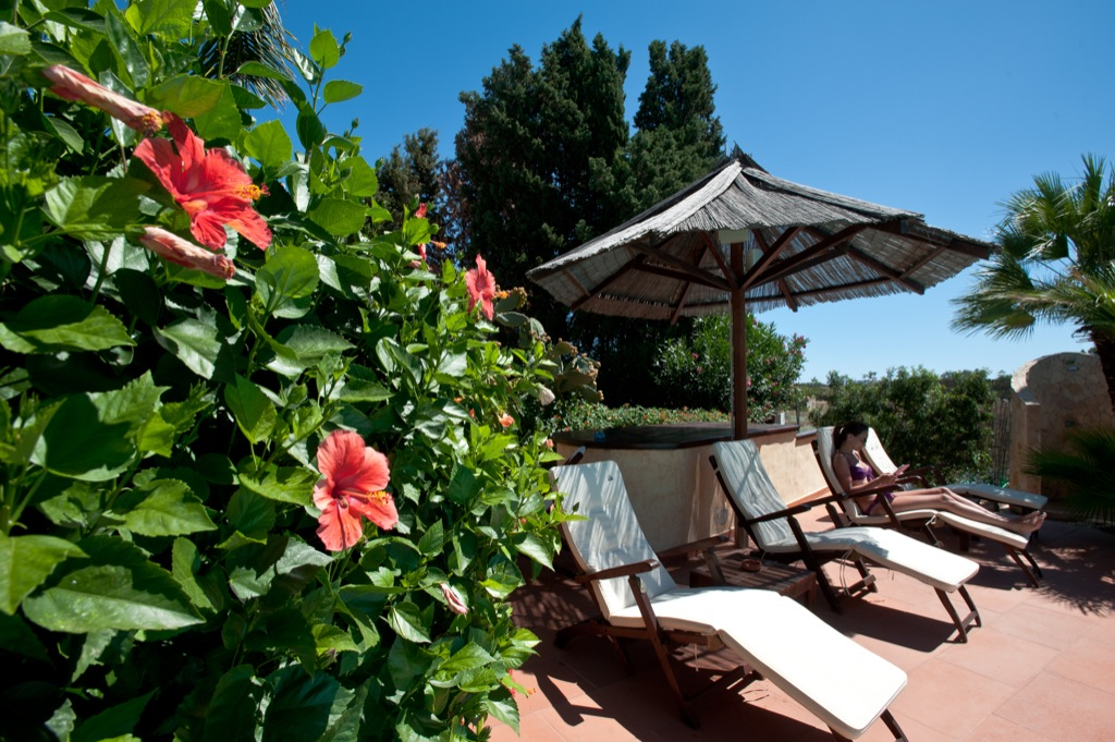 Sun Loungers at Nora Club Hotel & Spa