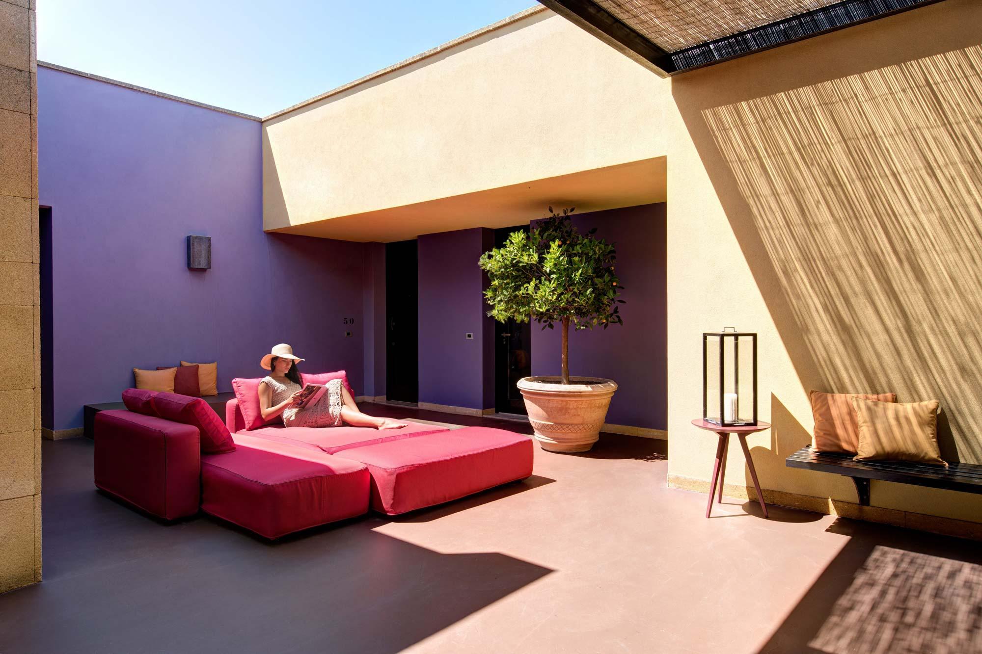 Terrace at Villa Acacia