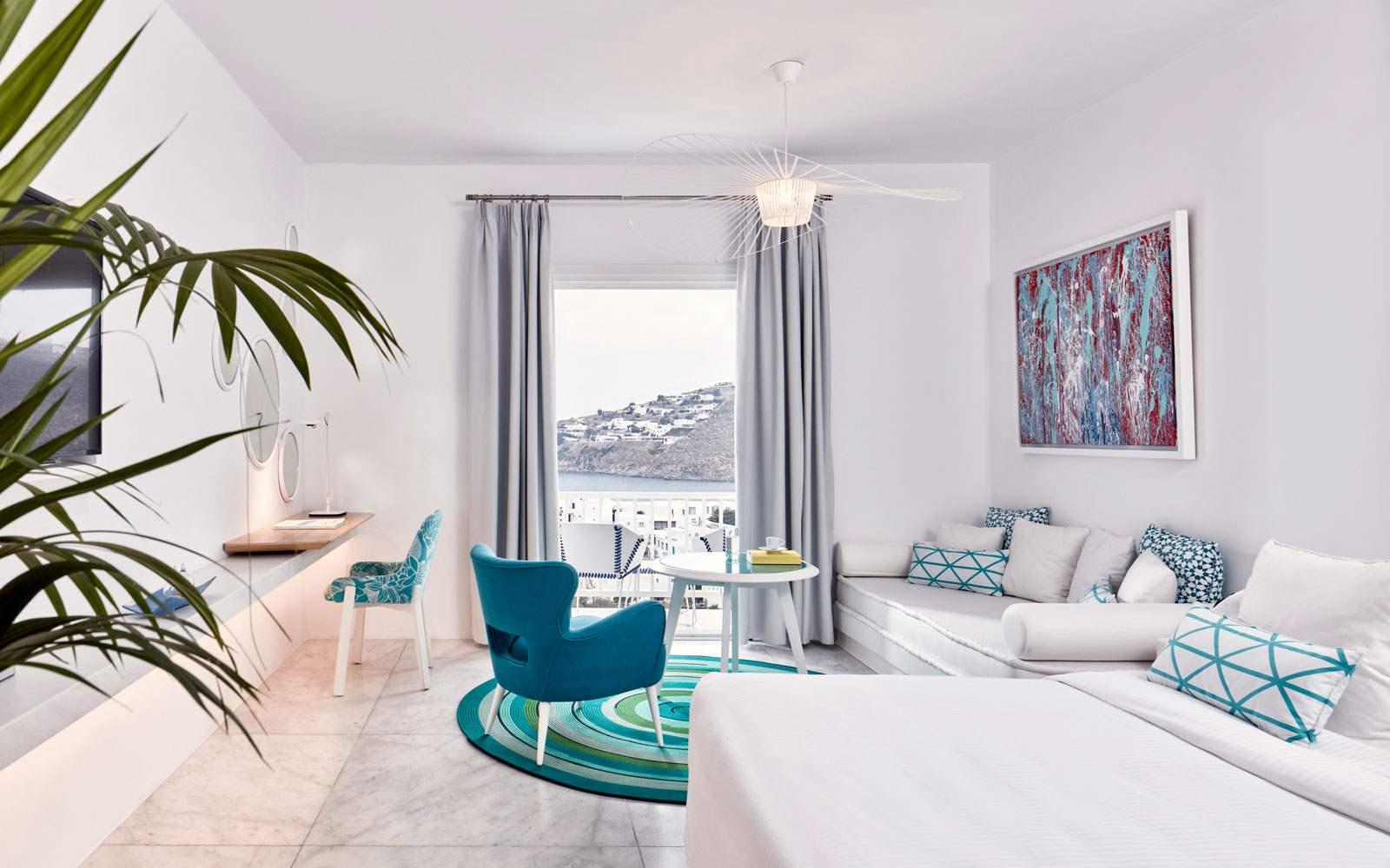 Myconian Ambassador - Thalassa Suite room