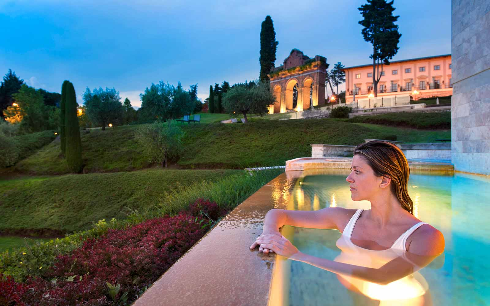 luxury view from fonteverde tuscany