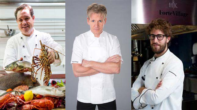 Celebrity Chef evenings Forte Village