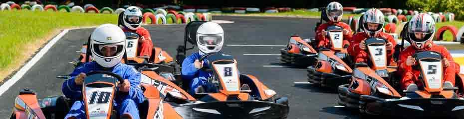 Go Karting at Forte Village