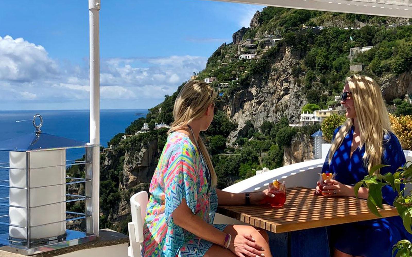 View from Terrace - Hotel Villa Franca
