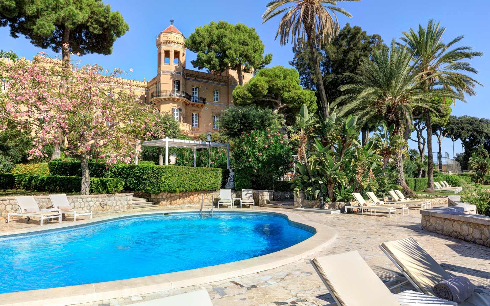 Villa Igiea Pool